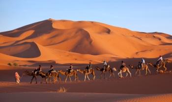 Week-end en plein désert à Merzouga / le 05 - 06 Mai 2018
