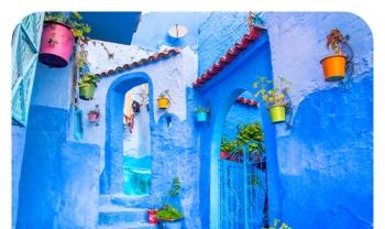 Week-End À Akchour - Chefchaouen - Fnideq - M'diq | Plusieurs Départs Disponibles