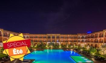 Spécial été au Riad Ennakhil Hôtel 5* : chambre double pour 2 adultes+enfant à 800 Dhs !