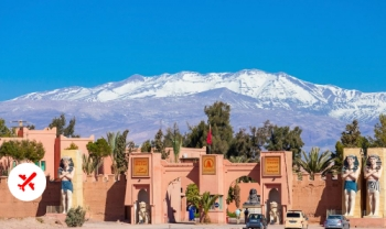 Séjour Spécial Avec La RAM : 5 Jours Errachidia - Merzouga - Les Gorges Todgha - Kelâa Des Mgouna - Ouarzazate
