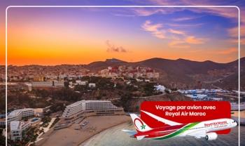 Week end Al hoceima par avion chez AjiNsafro | Plusieurs depart disponible