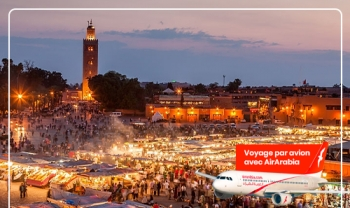 Exclusive chez Ajinsafro Marrakech par avion départ de Tanger | Chaque week end